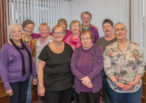 Group photo of the Newtongrange group